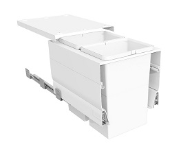 Systems for 400mm Cabinets - 2 bins