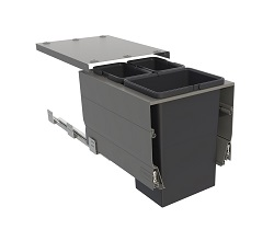 Systems for 400mm Cabinets - 3 bins