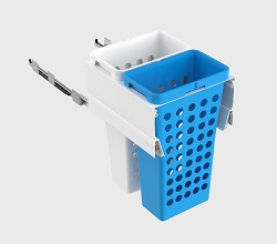 450mm Cab - 2x36L Plastic Hampers