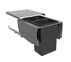 Systems for 450mm Cabinets - 3 Bins