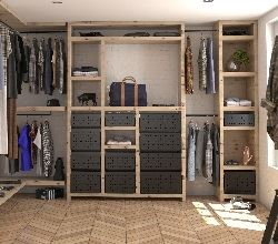 Tanova Ventilated Drawers for Wardrobes