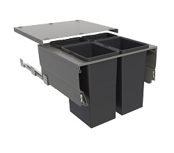 Systems for 600mm Cabinets - 2 Lg & 2 Sml Bins