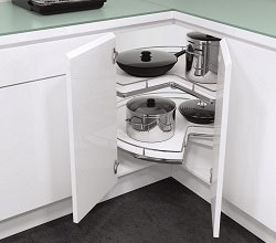 Vauth-Sagel L-Shaped Corner Storage