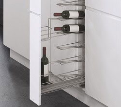 Pull Out Wine Storage