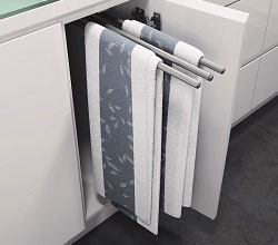 Pull Out Tea Towel Rails