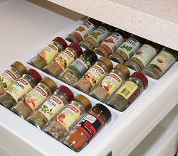 Spice Bottle Organiser for Drawers