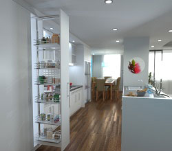 Pull-Out Pantry - 3 Height Options