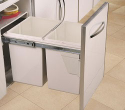 Base Mounted Pull Out - Drawer Type - Soft Close