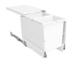 Systems for 350mm Cabinets - 2 Bucket - Full Sides