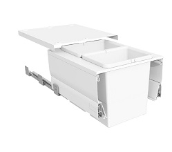 Systems for 450mm Cabinets - 2 Bins