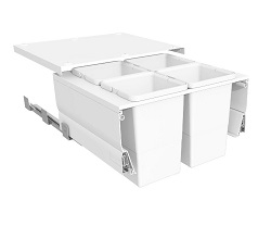 Systems for 600mm Cabinets - 4 Medium Bins