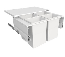 Systems for 800mm Cabinets - 4 Bins