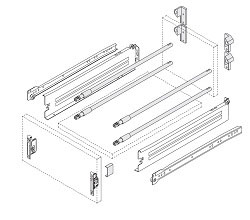Harn Impaz Drawer Components
